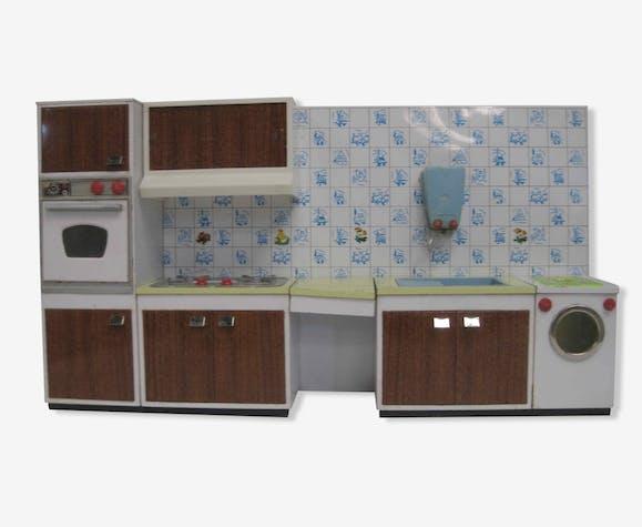 cuisine de poup e ann es 60 70 vintage m tal. Black Bedroom Furniture Sets. Home Design Ideas