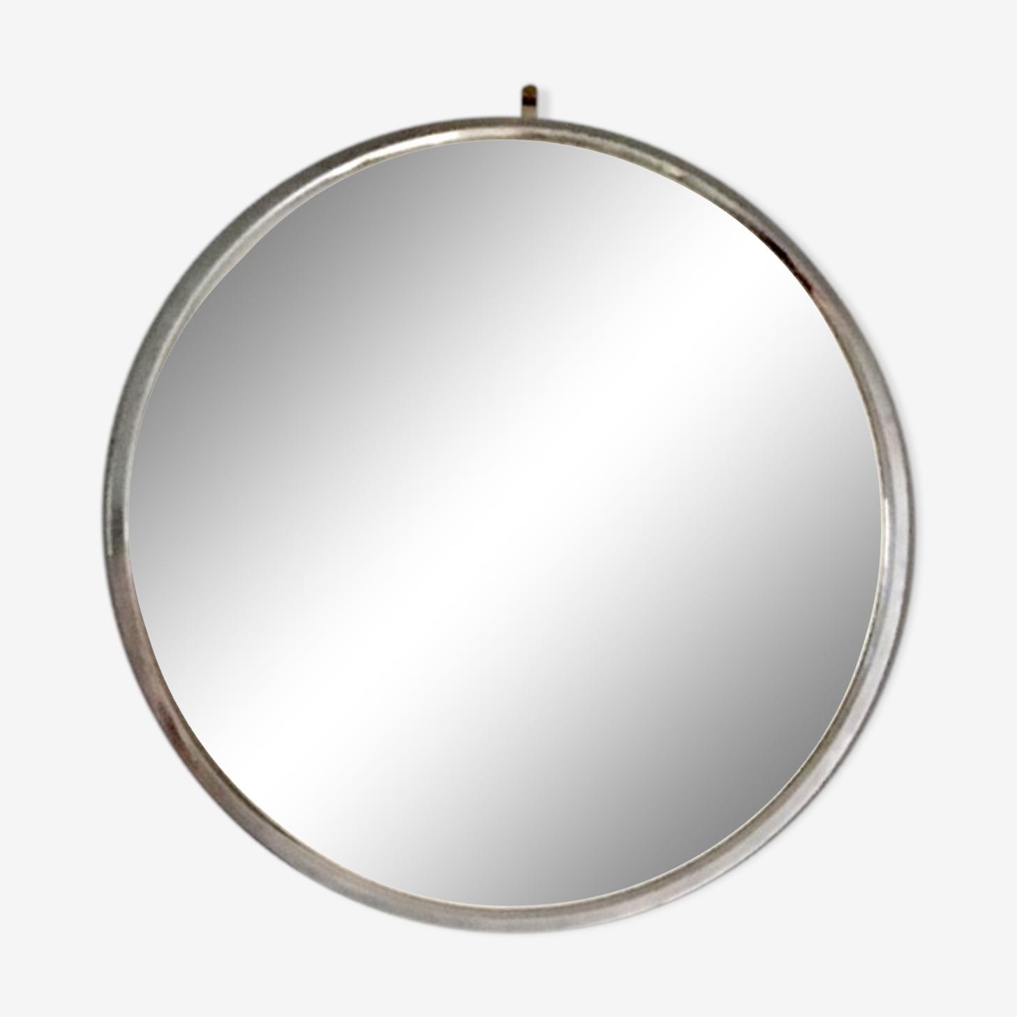 Plateau miroir ancien 40x40cm