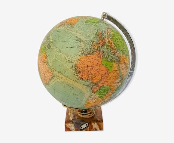 Globe terrestre Mappemonde en Verre Perrina