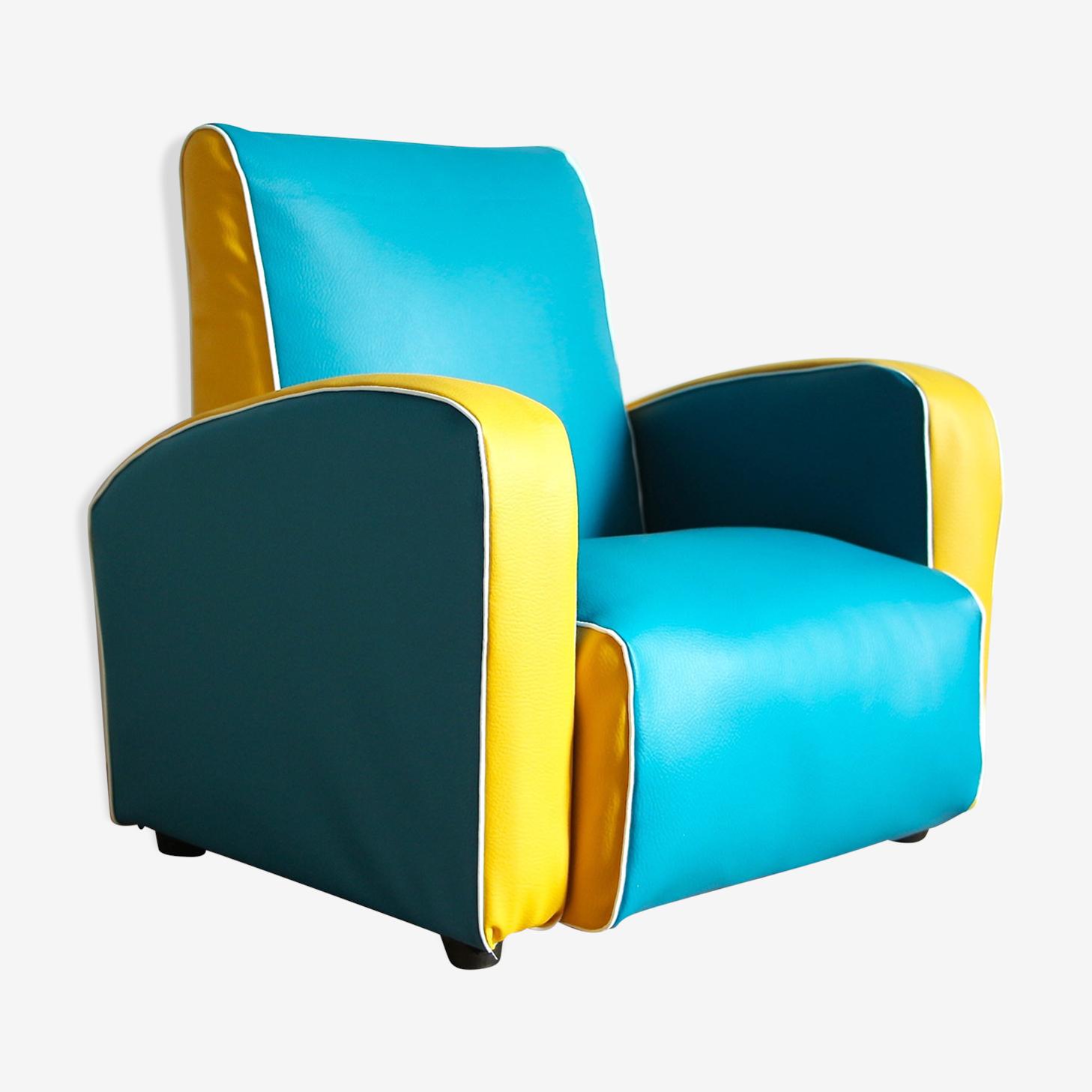 Vintage childrens club armchair