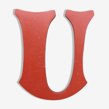 Teaches Letter U wooden