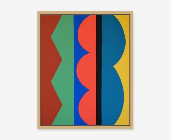Peinture sur toile 40x50cm, abstraction et couleurs