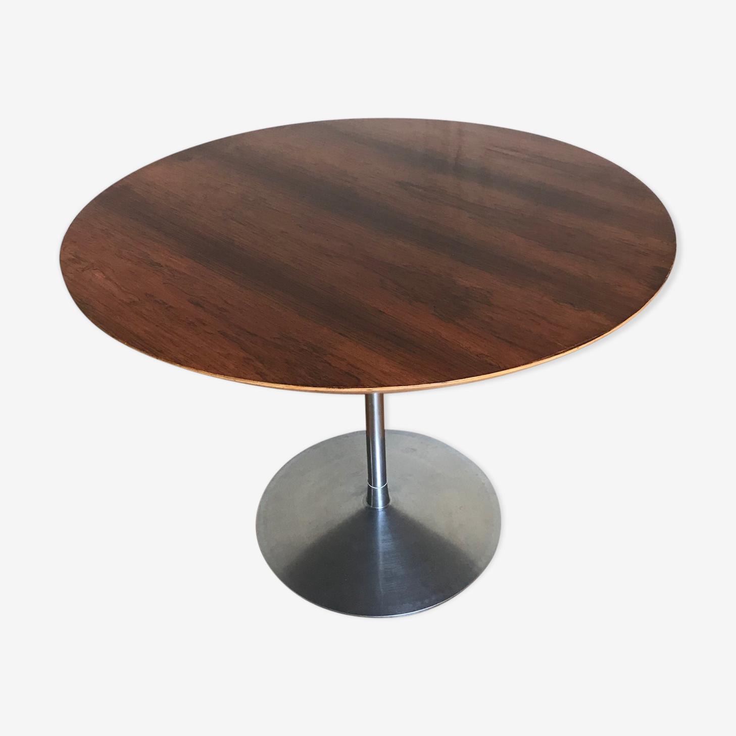 "Table vintage ""circle"" Pierre Paulin"