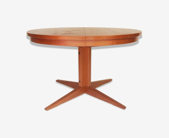 table de salle manger ronde pied central annes 50 60