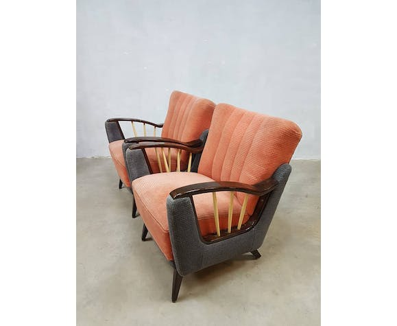 Chairs 50s art deco