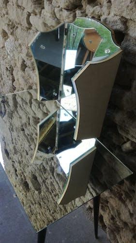 Coiffeuse miroir années 60