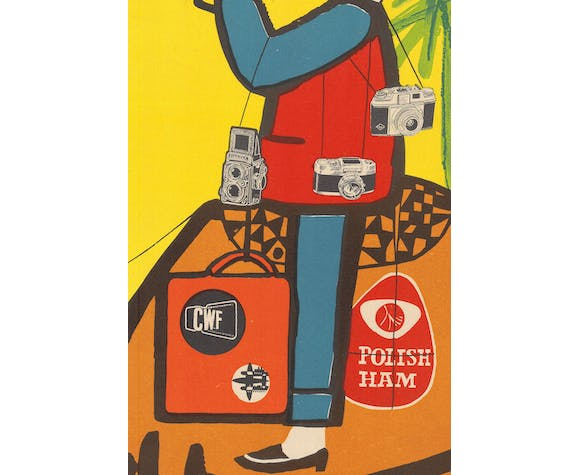 Polish in between Mediterranean and Red Sea Poster by Marian Stachurski