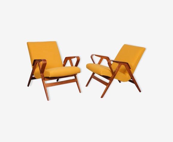 Paire de fauteuils tchèque pour Tatra Nabytok, 1960