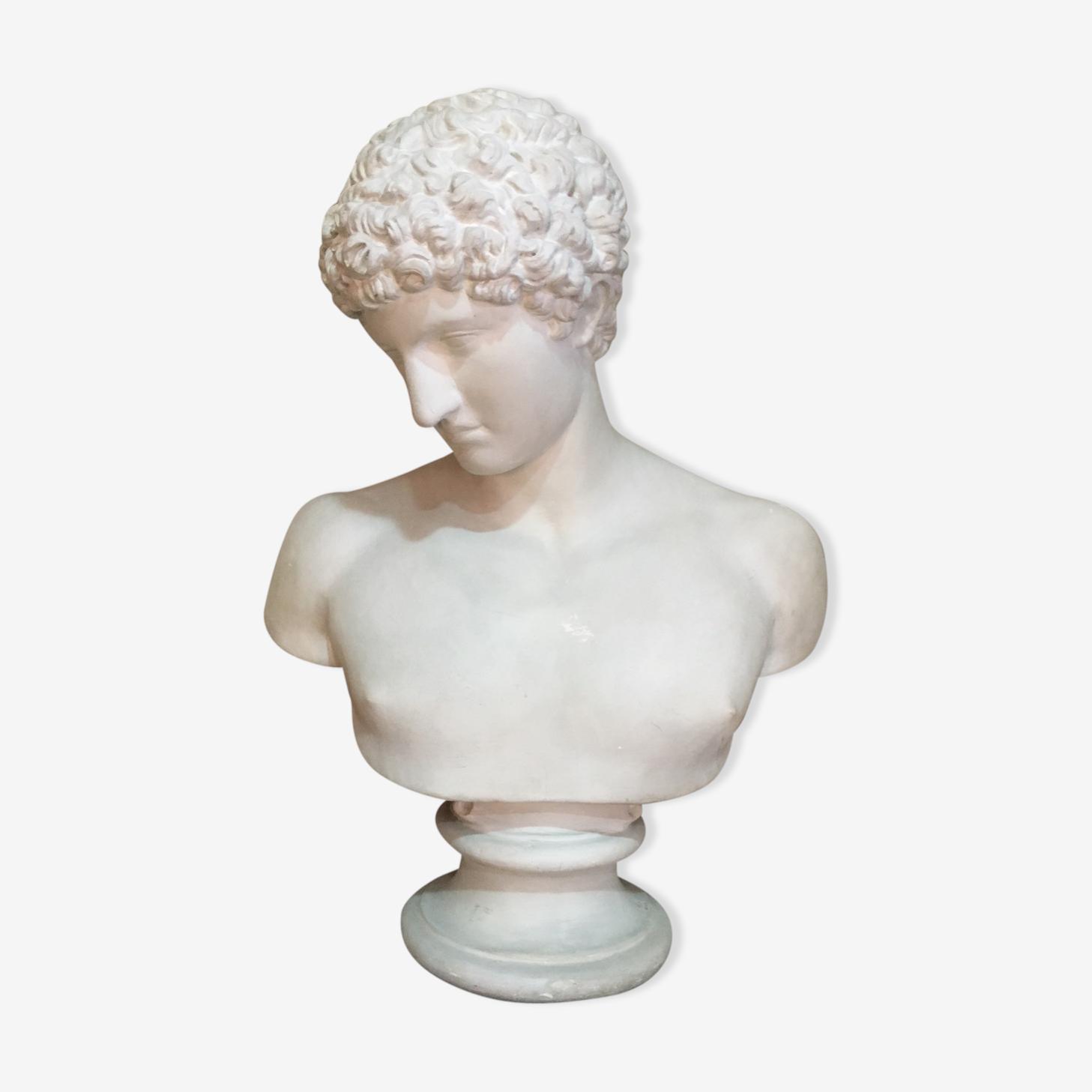 Apollo plaster bust