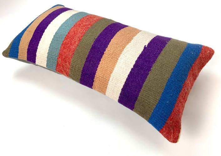 Vintage kilim cushion cover 60x30cm