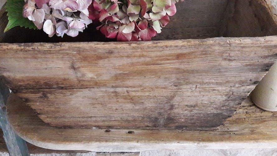 Harvest wooden crate