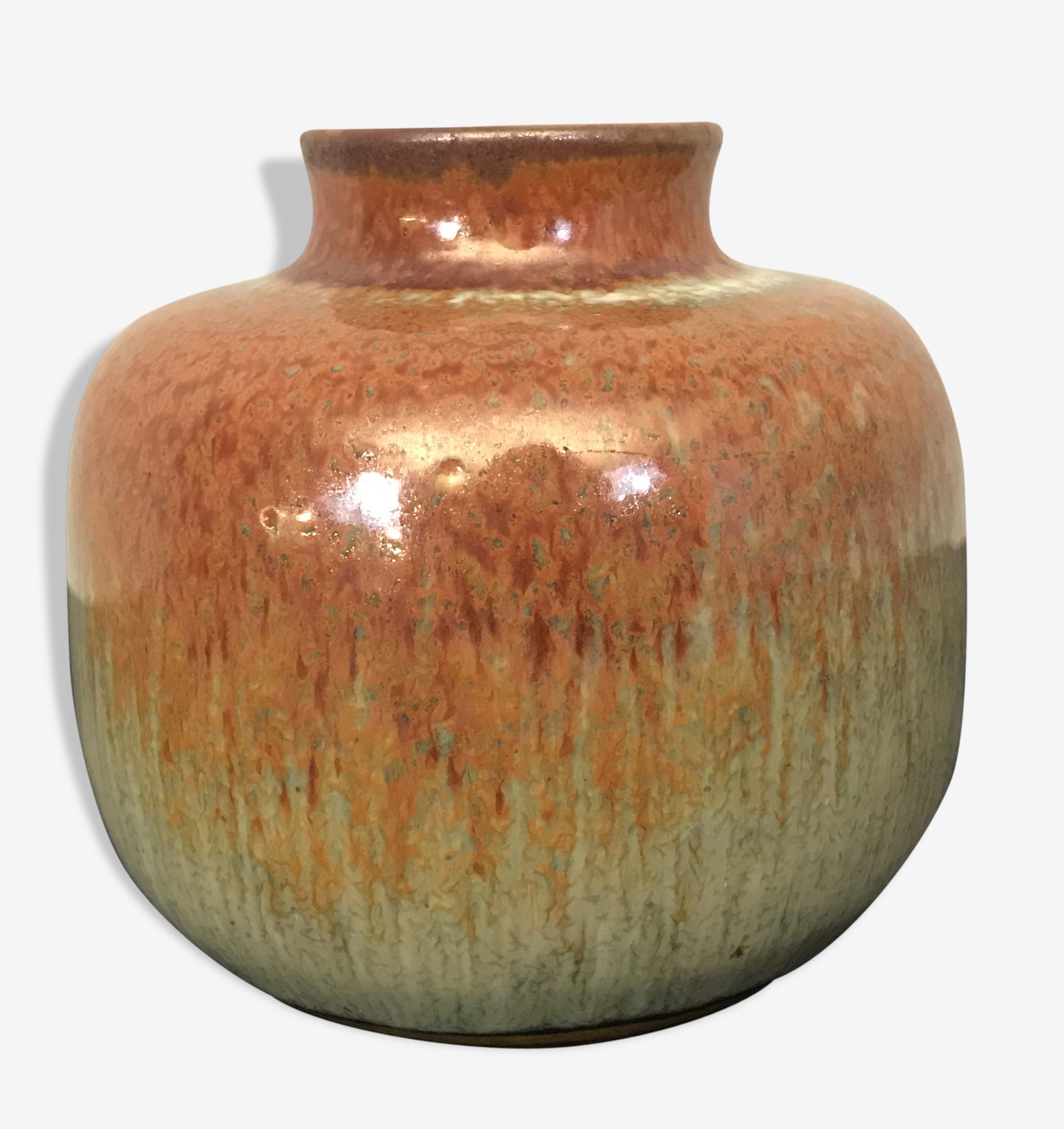 Vase en céramique de ZAALBERG - HOLLAND 1960