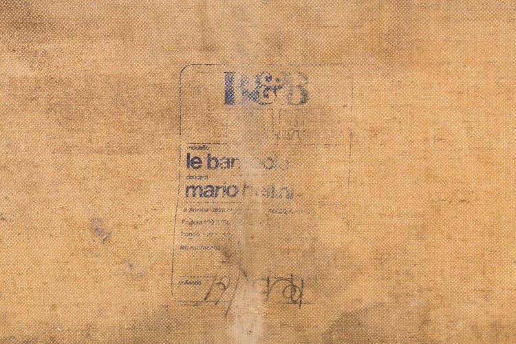 Sofa 'le bambole' par mMario Bellini pour B&B Italia