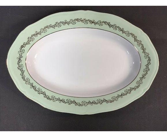 Lot 3 anciens plats de service table l'amandinaise vintage céramique de St Amand