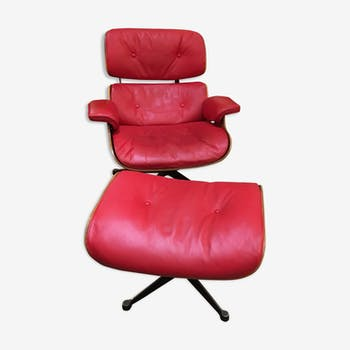 Lounge chair par Ray Charles Eames 1973