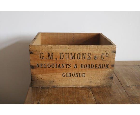 Ancienne boîte