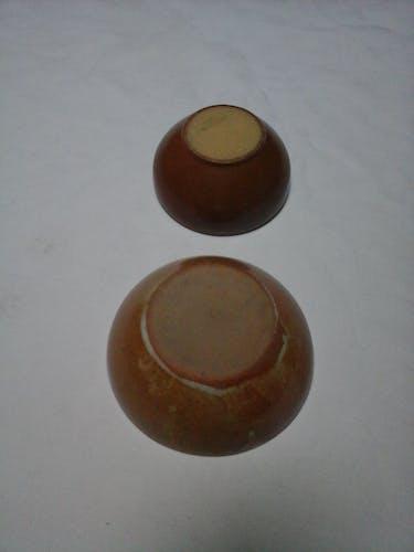 2 bols en grès