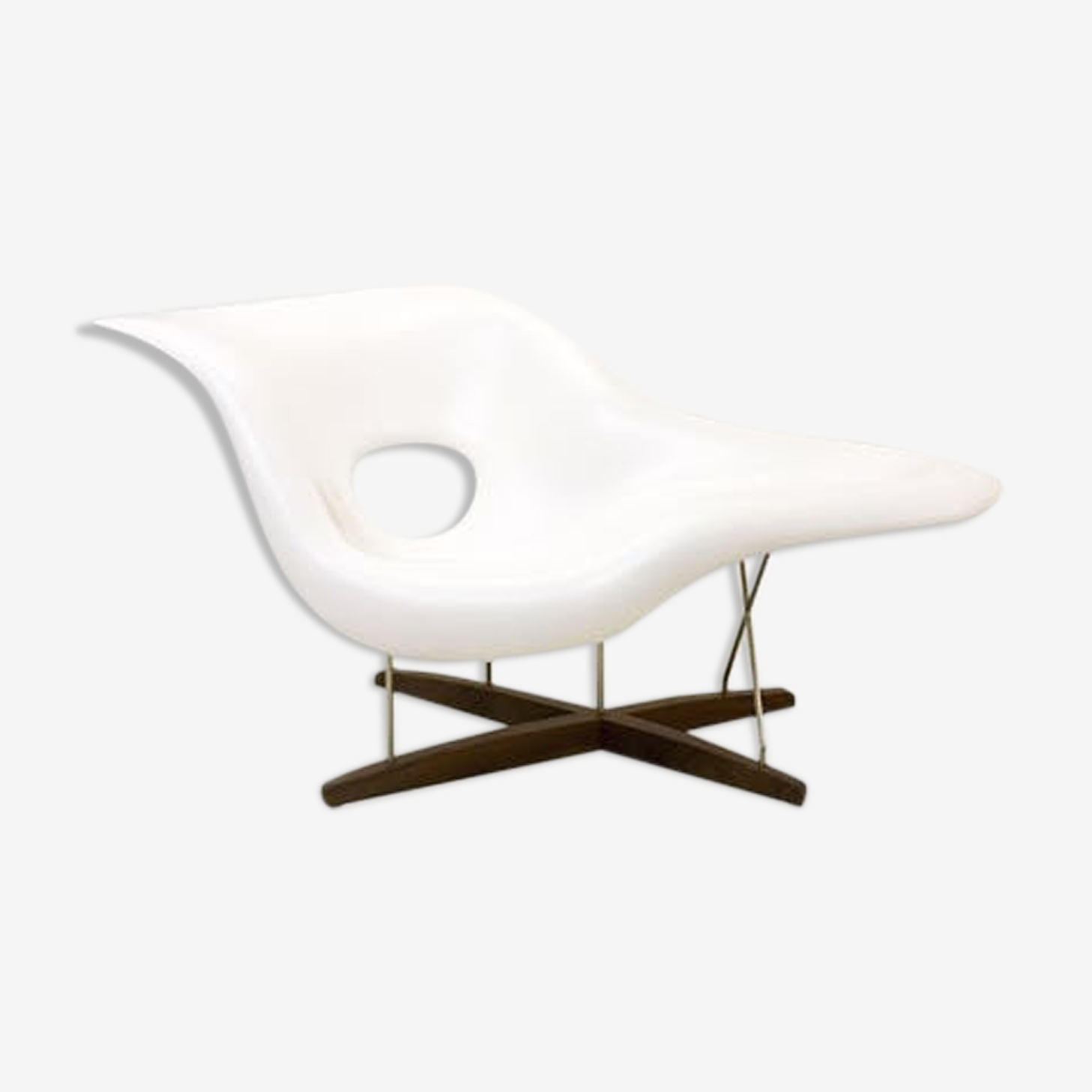 """Chair """"The Chair"""" Vitra white, Charles & Ray Eames - 2003"""