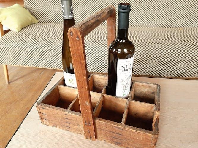 Porte bouteille ancien