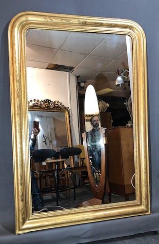 Miroir 151x101 louis philippe superbe dorure d origine