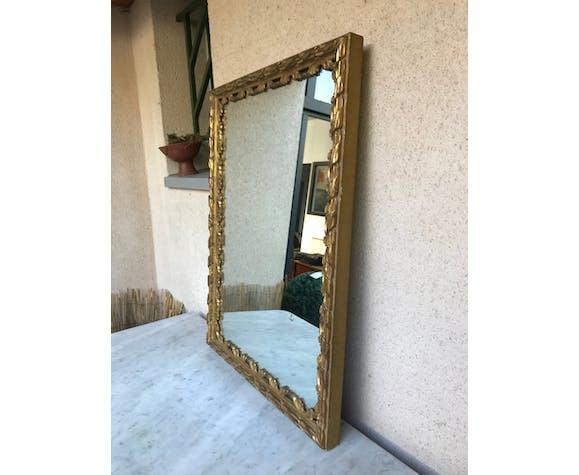 Miroir ancien doré