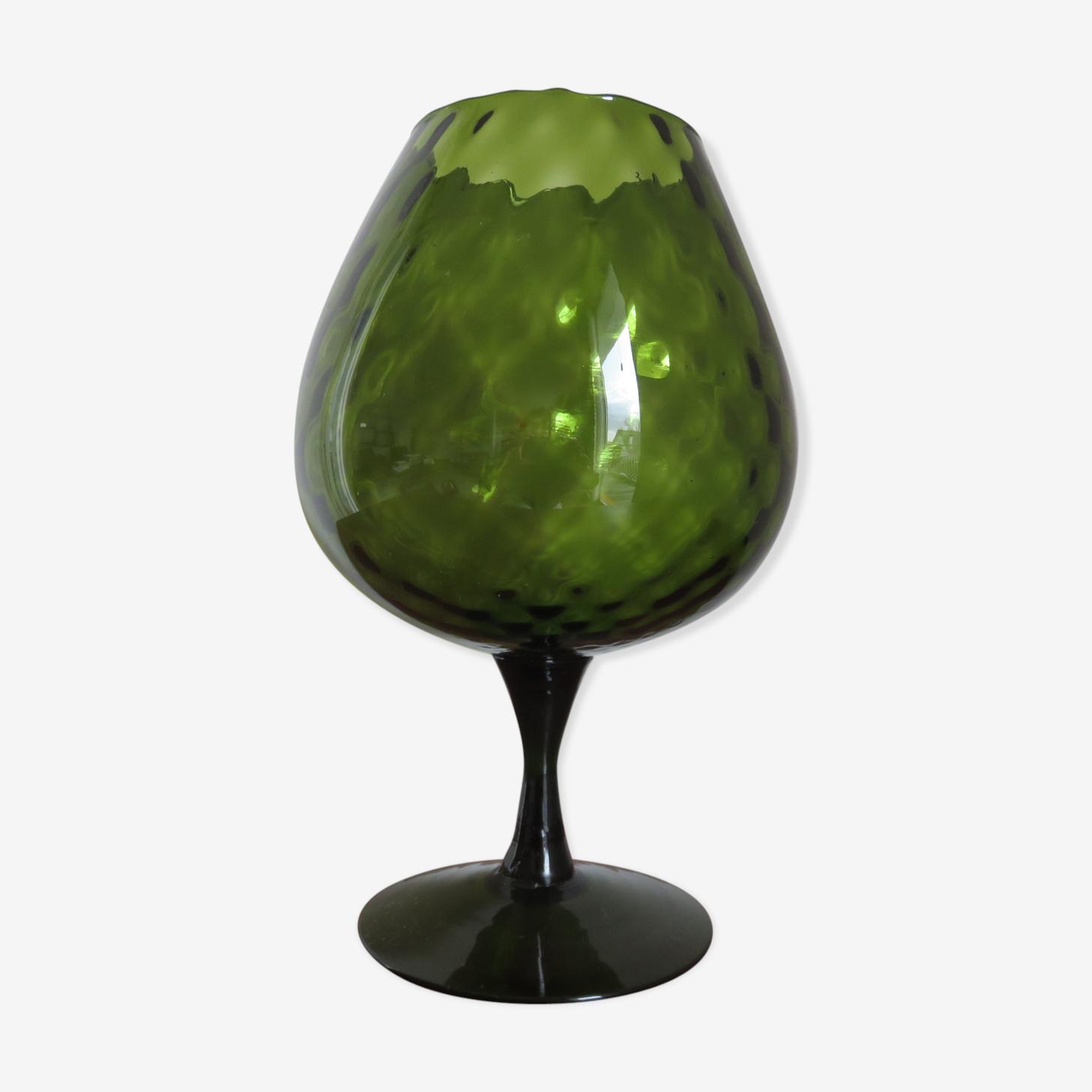 Italian blown glass vase 1970