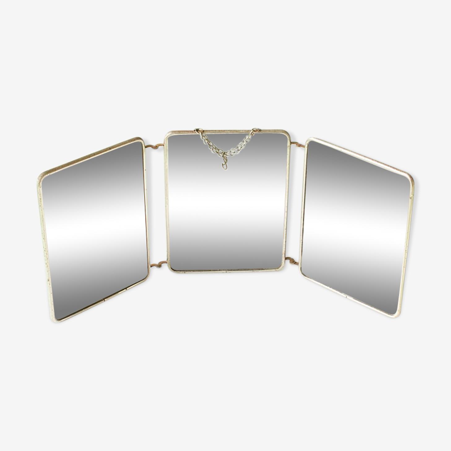 Miroir triptyque 58x24cm