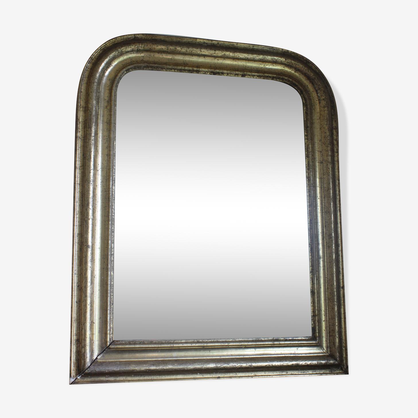 Miroir ancien en bois 60x50cm