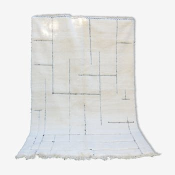 Tapis berbère Beni Ouarain Graphique 205x310 cm