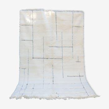Berber carpet Beni Ouarain Graphic 205x310 cm