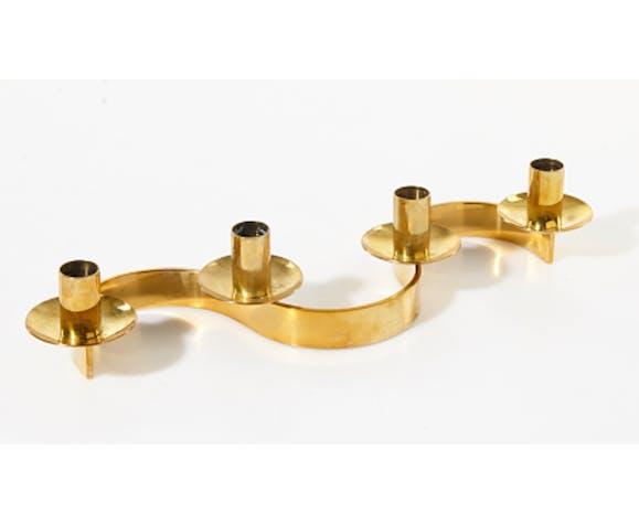 Josef Frank, brass candlestick, Svenskt Tenn Edition