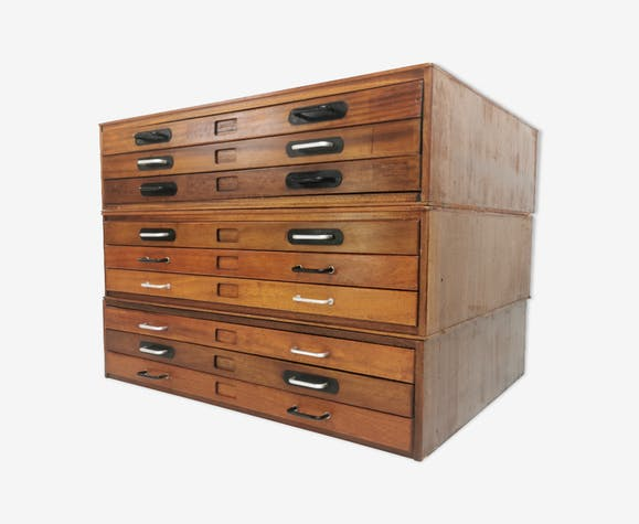 Abbess Plan Chest Of Drawers Selency