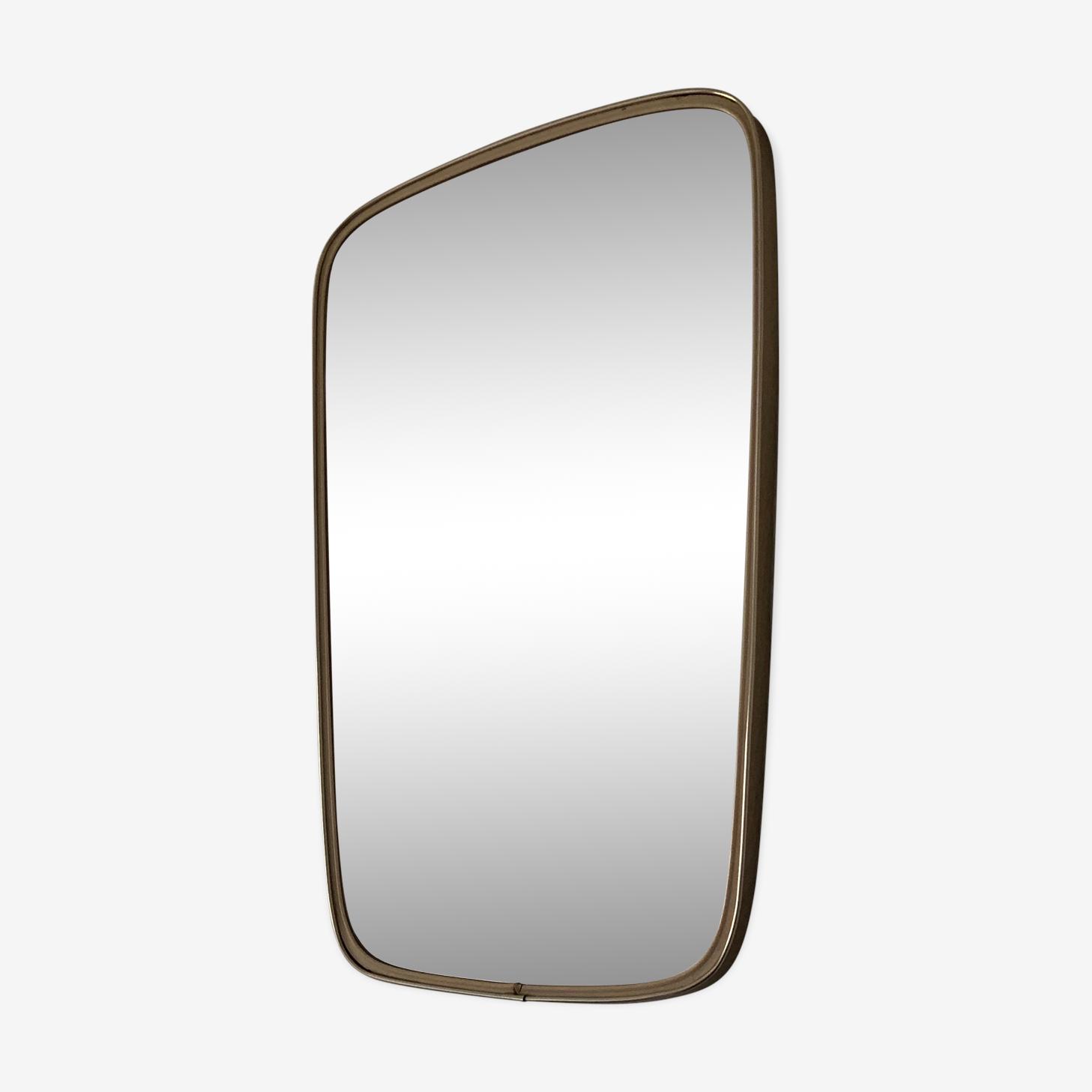 Miroir rétroviseur 57x36cm vintage 1960