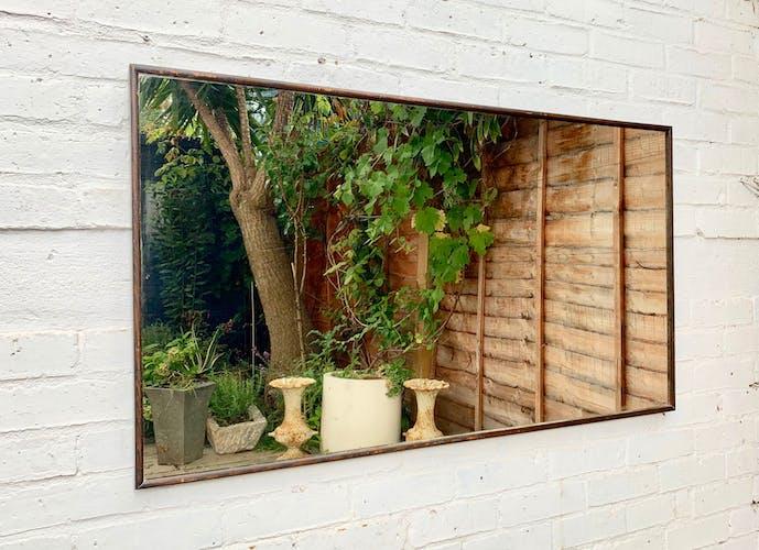 Vintage wall mirror - 118 x 67