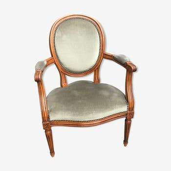 Louis XVI style convertible chair