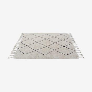 Tapis berbère en coton 200x140cm