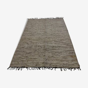 Indian rug leather  120x196cm