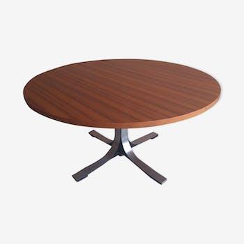 Table modulable par Osvaldo Borsani pour Tecno