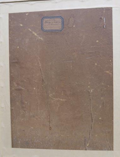 Tableau guinguette à Meudon, fin XIXe