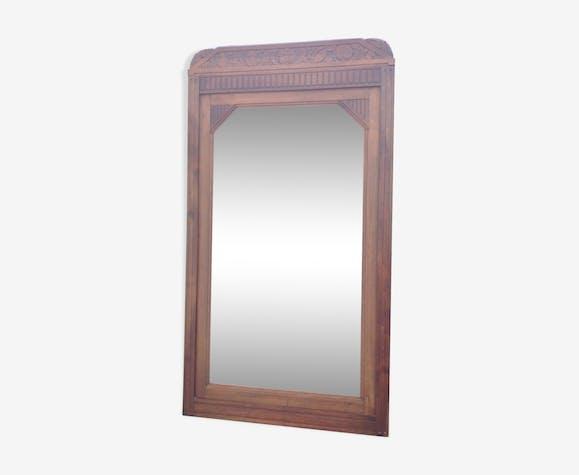 Miroir bois 88x160cm