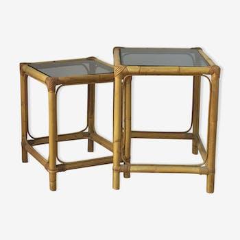 Tables gigognes années 1960-70