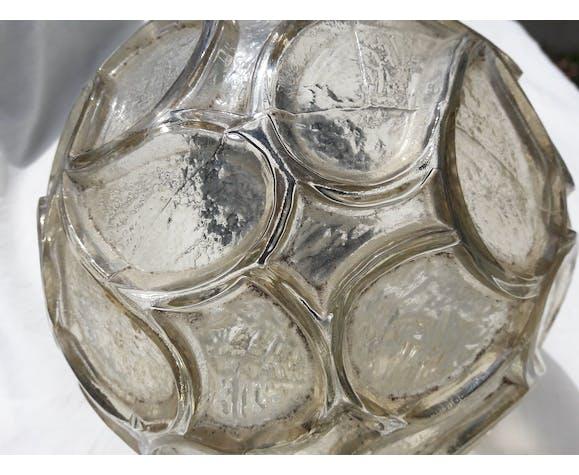 Suspension verre style Art Déco
