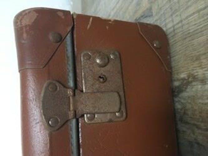 Valise ancienne marron