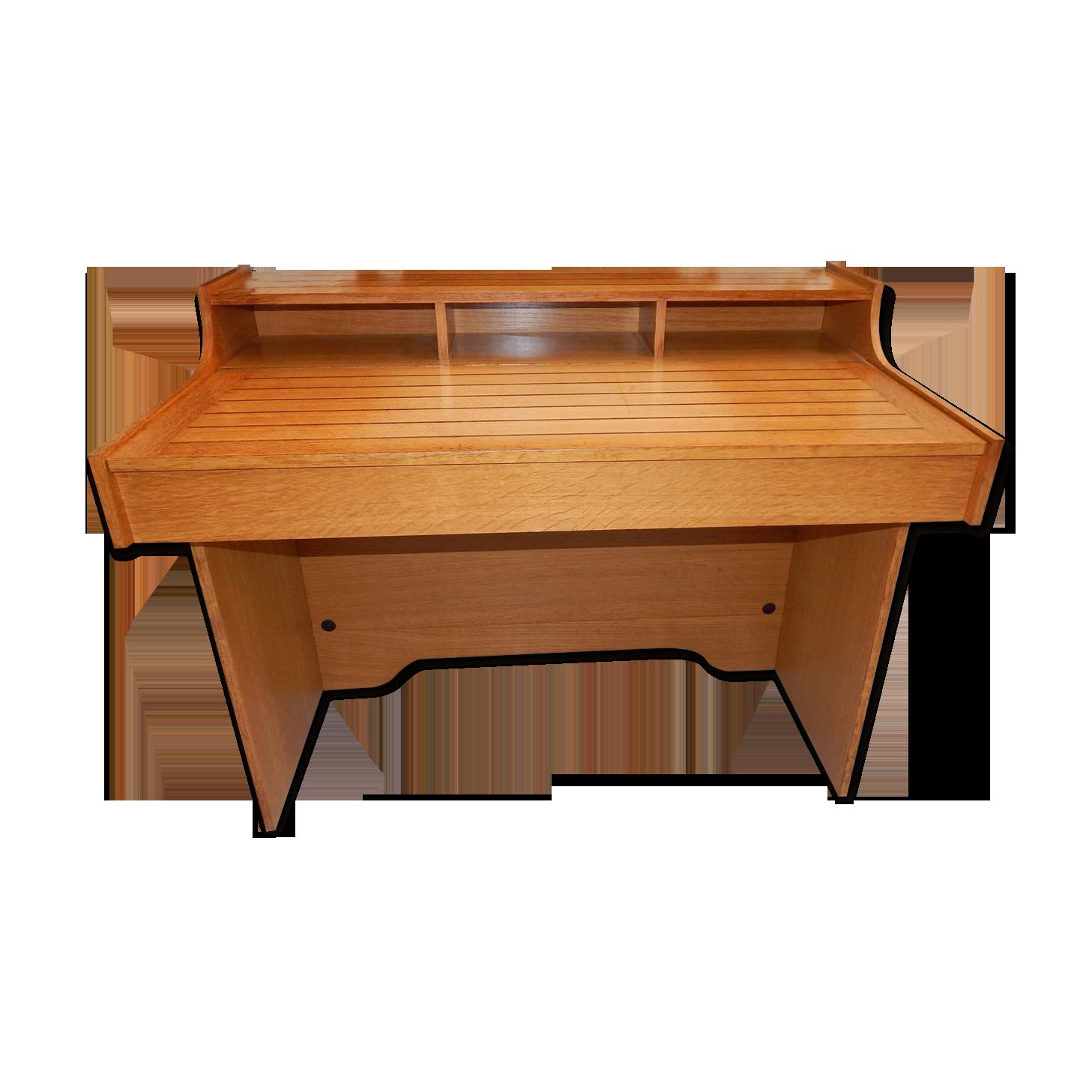 Bureau design gautier année bois matériau marron
