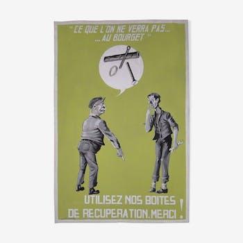 Affiche de pub Guy Delaplanche