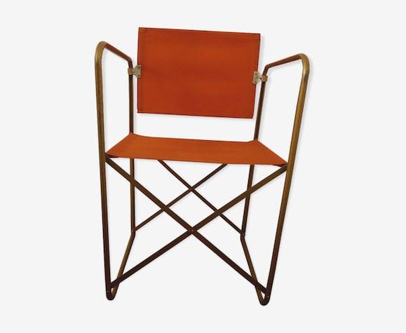 fauteuil pliant chantazur lafuma 1960 - Fauteuil Pliant Lafuma