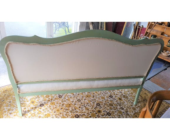 Redesigned louis XV style bench