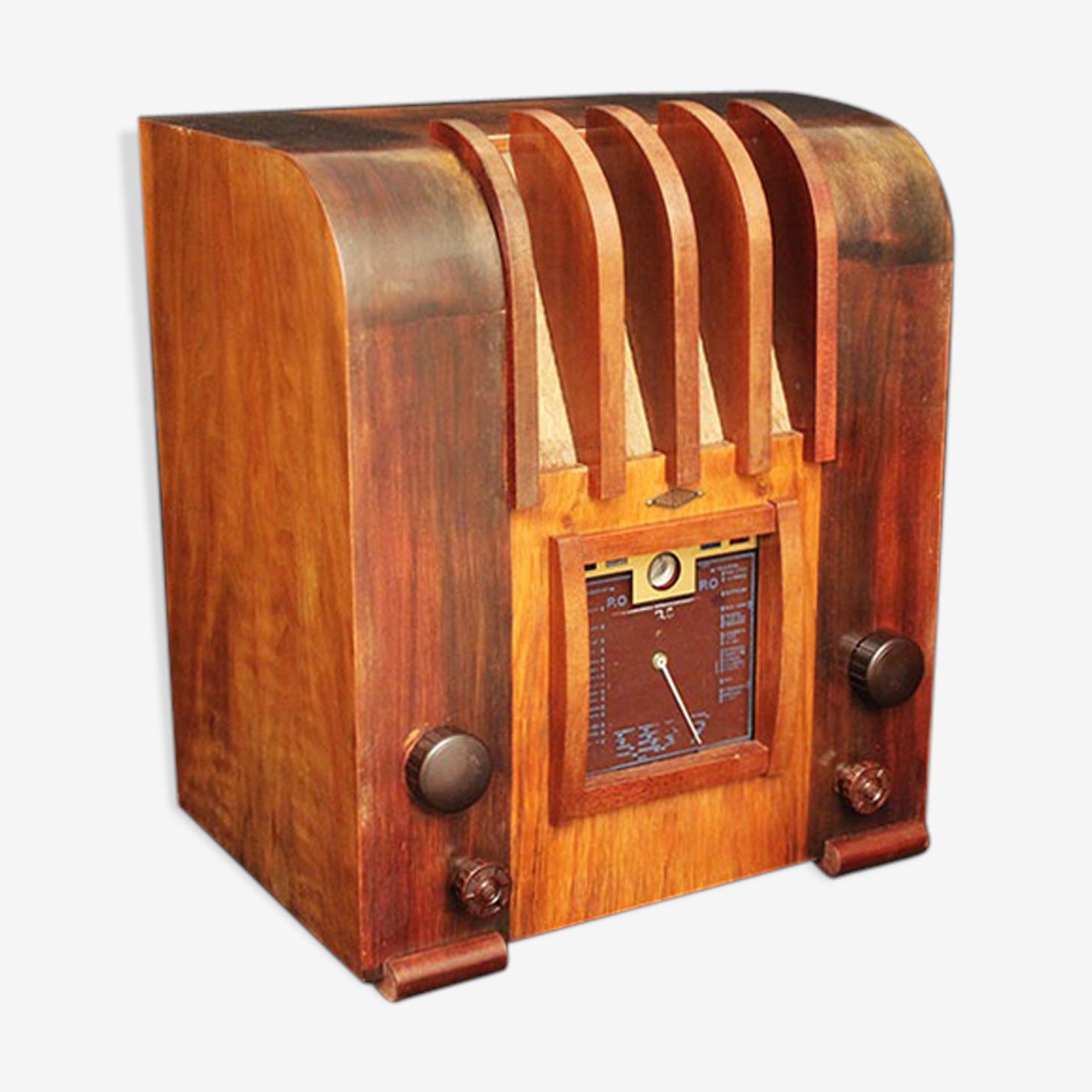 Poste radio vintage bluetooth