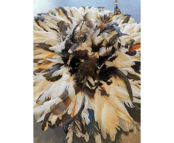 Juju hat in handmade feather 60 cm