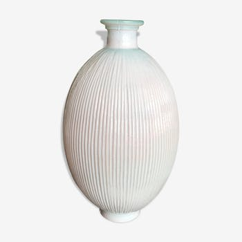 Art deco pale pink vase